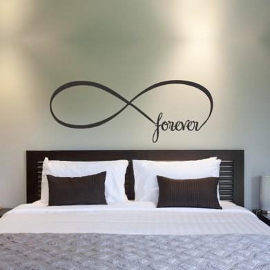 Наклейка на стену - Forever