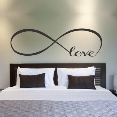 Наклейка на стену - Бесконечная Любовь