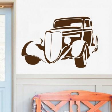 Наклейка на стену - Ретро Автомобиль