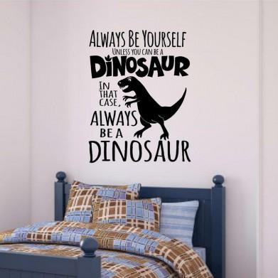 Наклейка на стену - Dinosaur