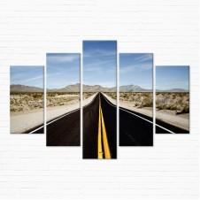 Модульная картина - Road Trip