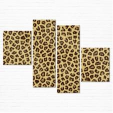 Модульная картина - Leopard Spots