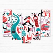 Модульная картина - My London