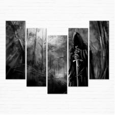 Модульная картина - Dark Evil