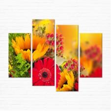 Модульная картина - Floral Bouquet