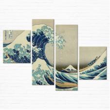 Модульная картина - Great Wave