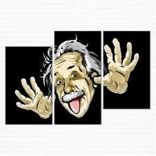 Модульная картина - Альберт Эйнштейн