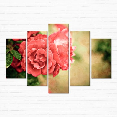 Модульная картина - Винтажная Роза