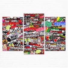 Модульная картина - StickerBomb Tuned