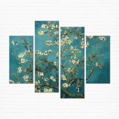 Модульная картина - Blossoming Almond Tree
