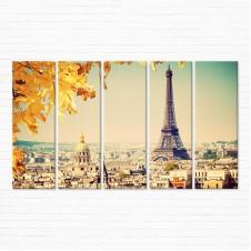 Модульная картина - Осенний Париж