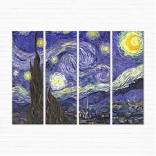 Модульная картина - Starry Night